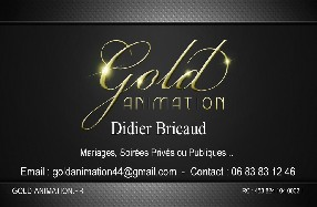 GOLD ANIMATION Le Loroux Bottereau