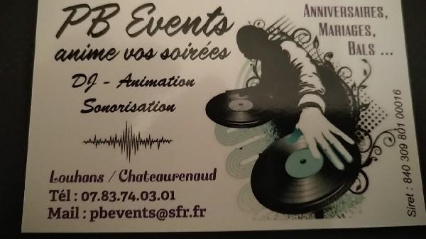 Pbevents DJ Louhans DJ Saône et Loire  Louhans